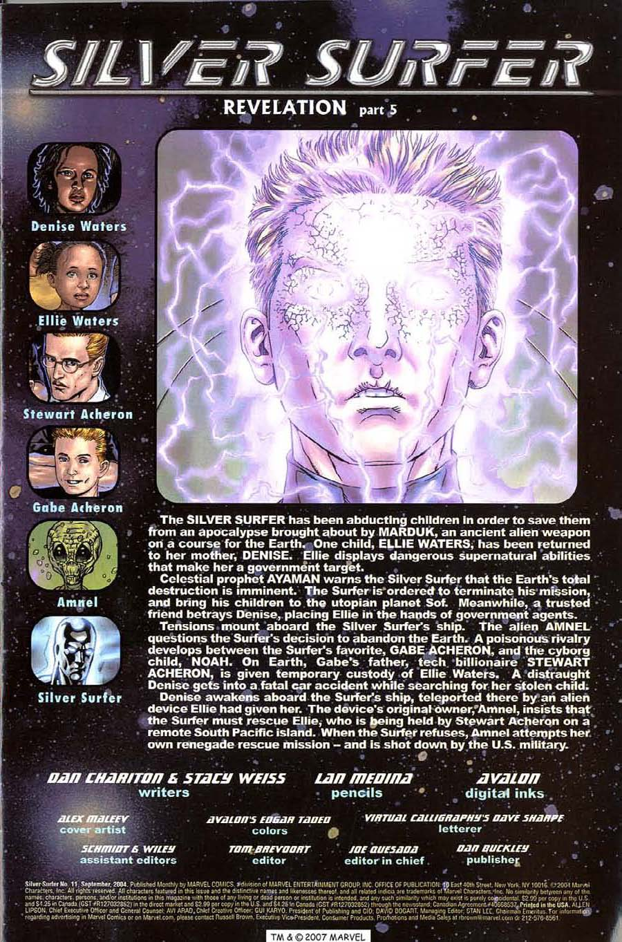 Read online Silver Surfer (2003) comic -  Issue #11 - 3