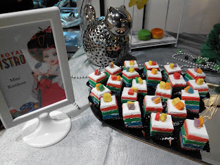 Mini Rainbow Cake JJ Royal Bistro