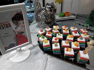 Mini Rainbow Cake JJ Royal Bistro