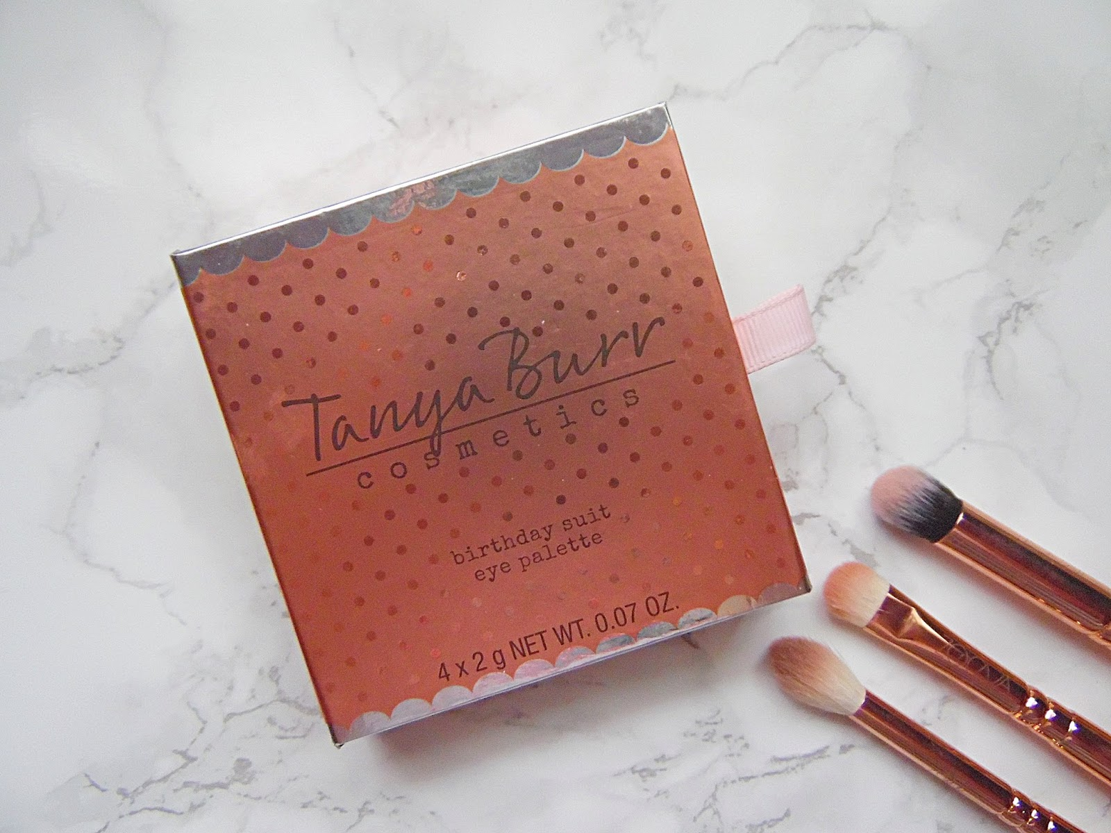 Tanya Burr Birthday Suit Eyeshadow Palette