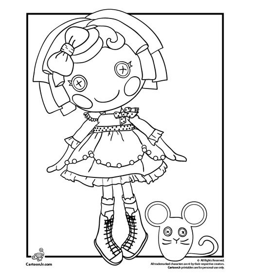 lala oopsies coloring pages   Pink Heart String: Free Printable Doll Coloring Pages
