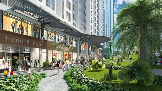 Cuộc sống xanh Vinhomes Phạm Hùng