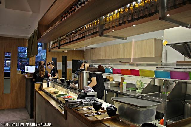 IMG 0068 - 台中北屯│丼丼亭*丼飯咖哩飯生魚片與沙拉。午間限定套餐更便宜喔