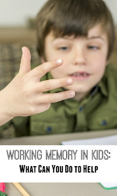 Working memory in kids: how to deal with its weakness