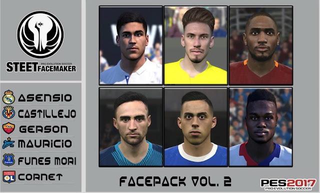 PES 2017 Facepack EUR Vol.2 By Steet Facemaker