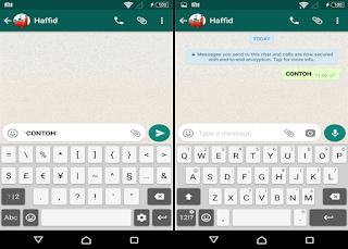 edit huruf di whatsapp menjadi tebal