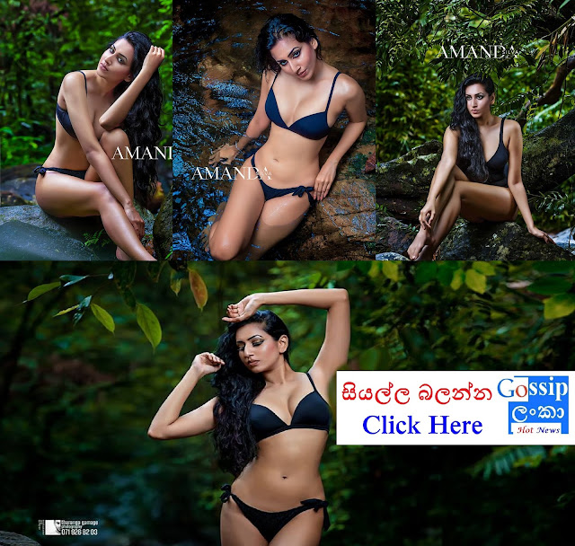 Amanda Silva Hot Bikini photoshoot