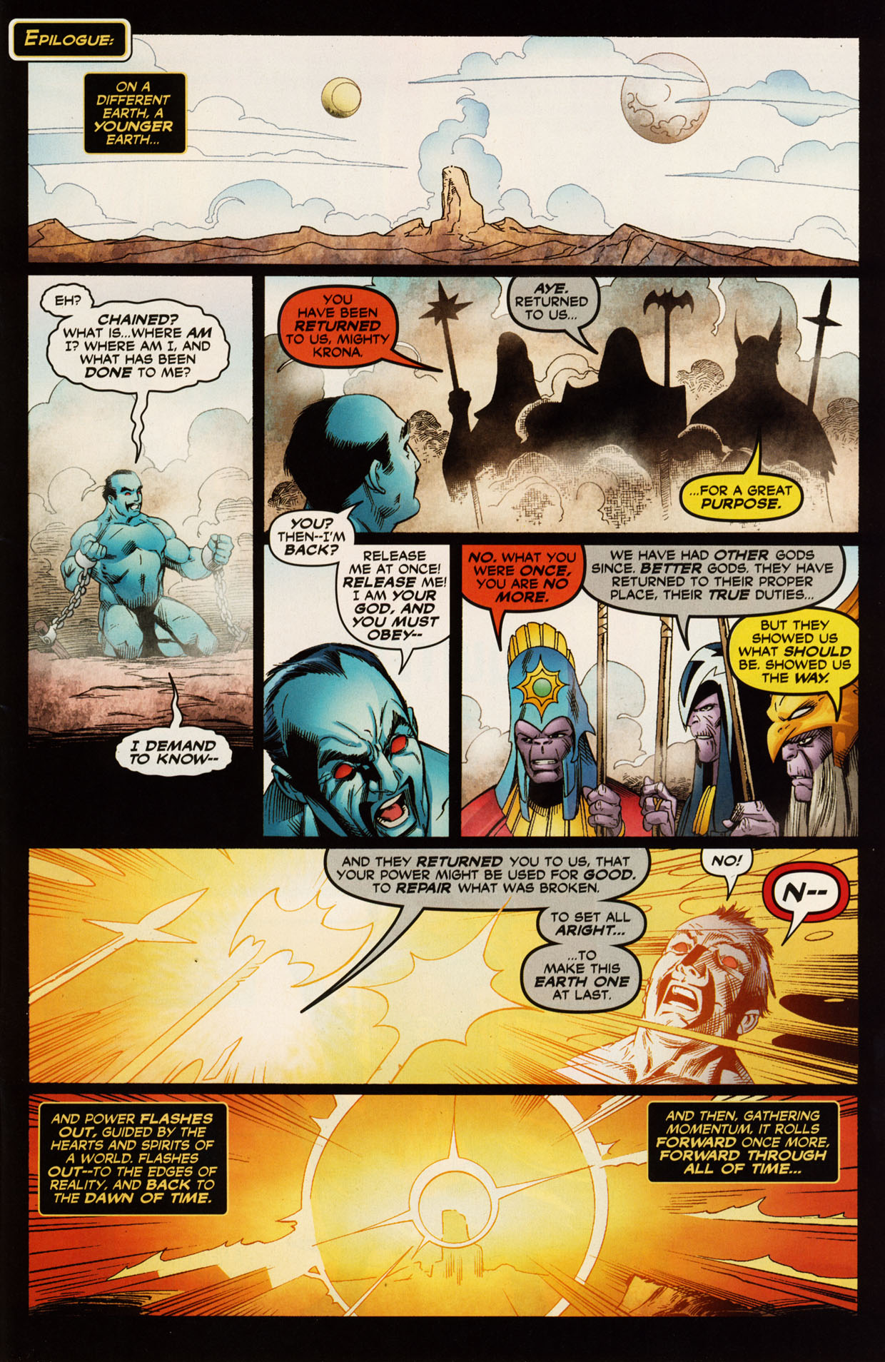 Read online Trinity (2008) comic -  Issue #52 - 32