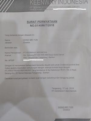 Contoh Surat Pernyataan Siap Audit Terbaru