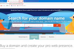 Membeli Domain .com  Murah dari namecheap cuma 0.88 dollar