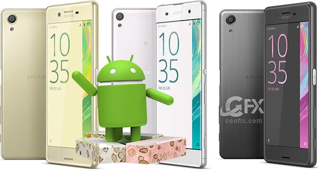 Sony XA Ultra İçin Android 7.0 Nougat Güncellemesi Geldi