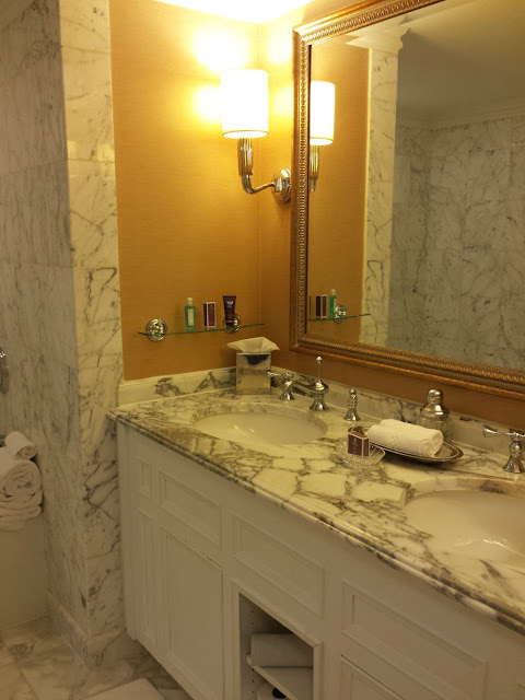 Ritz-Carlton Pentagon City dreamy bathroom.