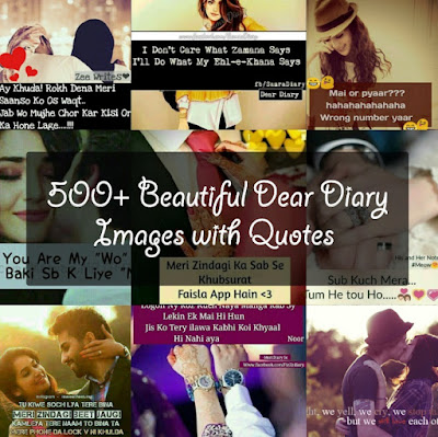 dear diary images with sad and romantic love quotes