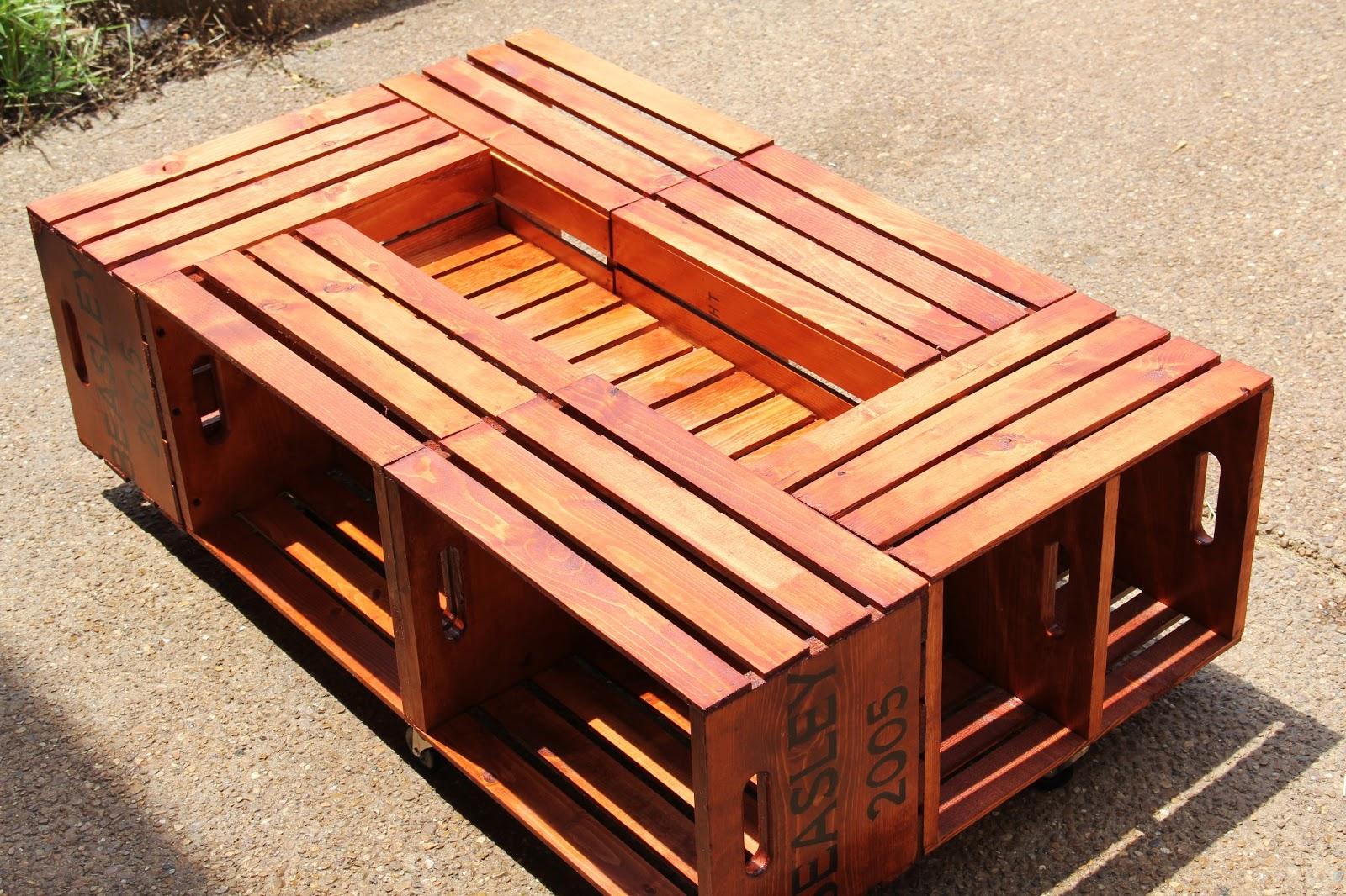 Diy Crate Coffee Table | www.imgkid.com - The Image Kid ...