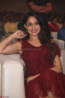 Pragya Jaiswal in Stunnign Deep neck Designer Maroon Dress at Nakshatram music launch ~ CelebesNext Celebrities Galleries 149.JPG