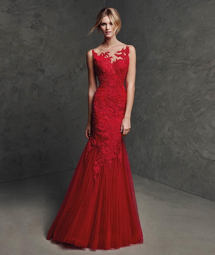 Complementos para vestido rojo largo de fiesta