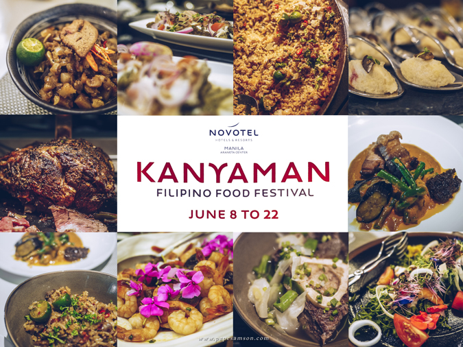 Kanyaman Food Festival at the Food Exchange, Novotel Manila Araneta Center
