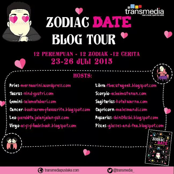 (Blog Tour + Give Away) Zodiac Date: Kisah Kencan Kasih Tak Sampai