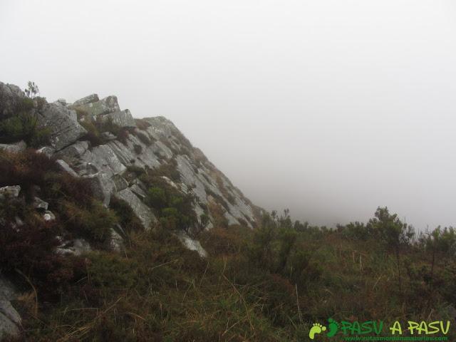 Bajando del Prao Roque hacia el Gargalois