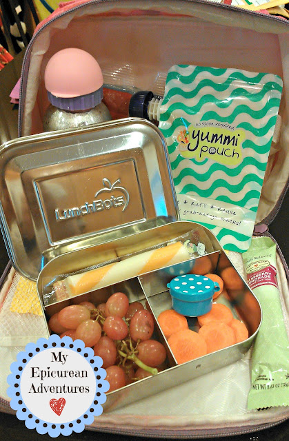 My Epicurean Adventures: #yummypouch and #lunchbots for snack