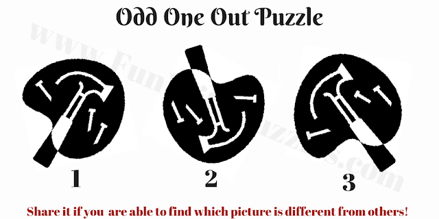 Which picture is Different Brain Teaser?