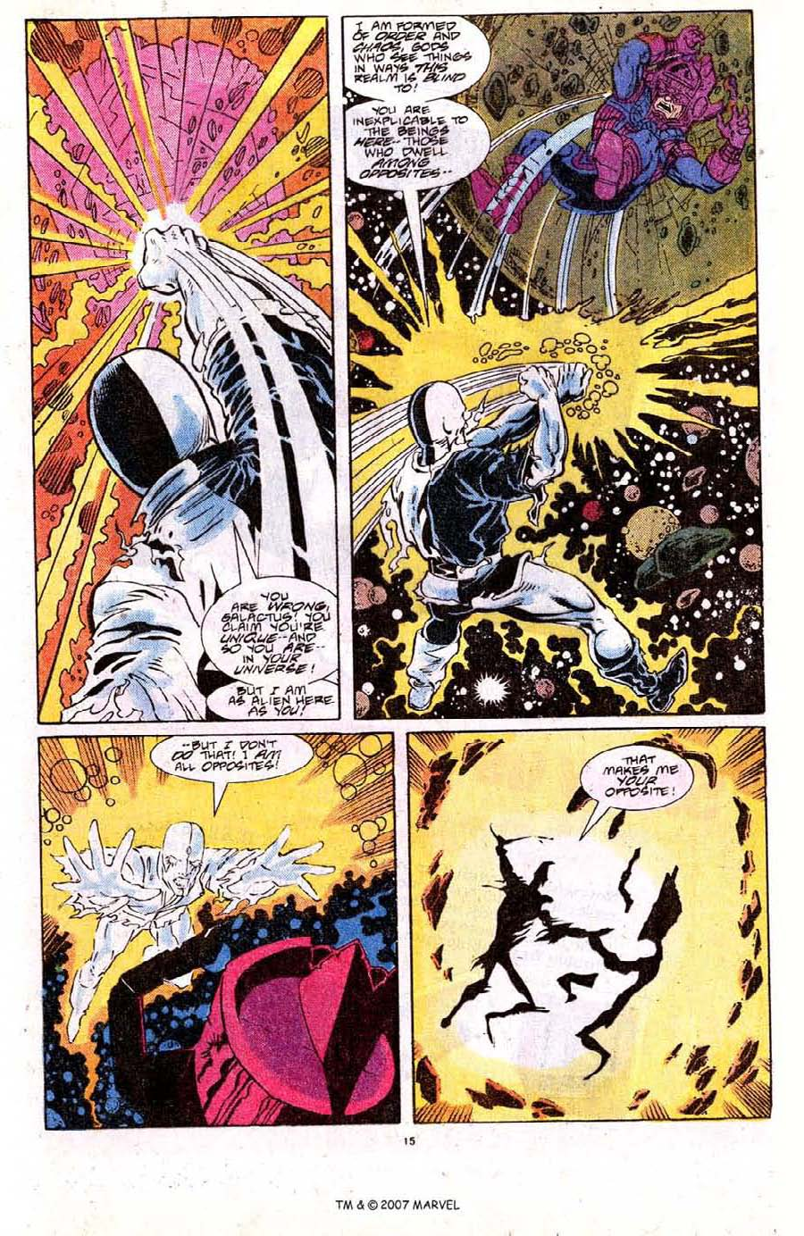 Read online Silver Surfer (1987) comic -  Issue #18 - 17