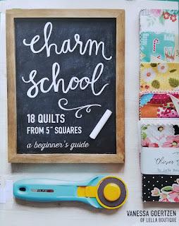 Charm School quilt book