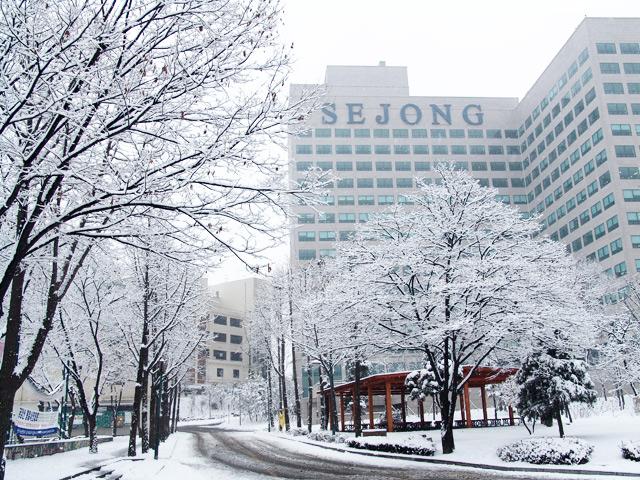 Mùa đông tại đại học Sejong