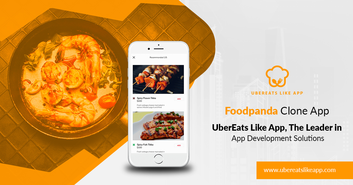 A FoodPanda clone app for limitless innovation and infinite revenue
