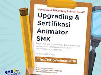 Bantuan Kemitraan Vokasi, Ugrading dan Sertifikasi Animator SMK