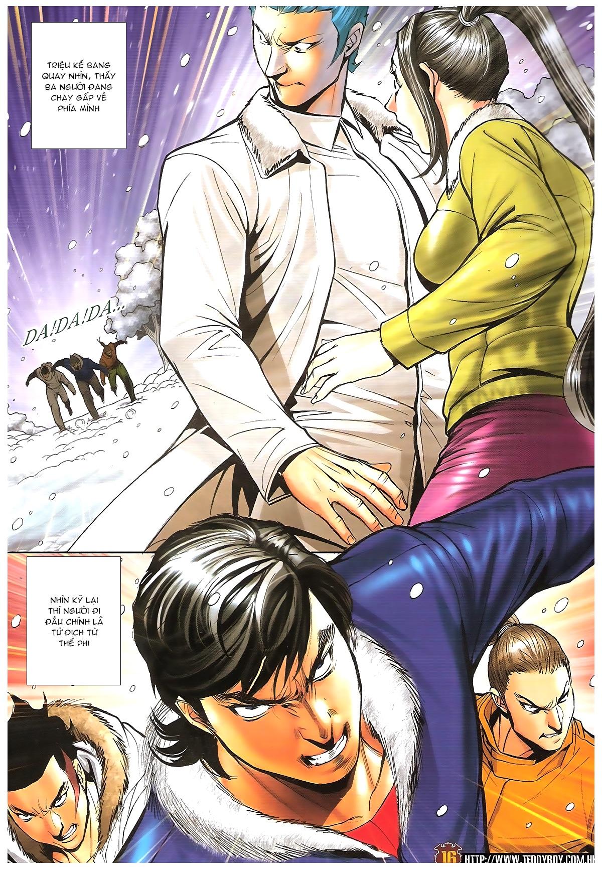 Người Trong Giang Hồ - Chapter 1613: Tuyết Địa Tranh Hùng - Pic 13