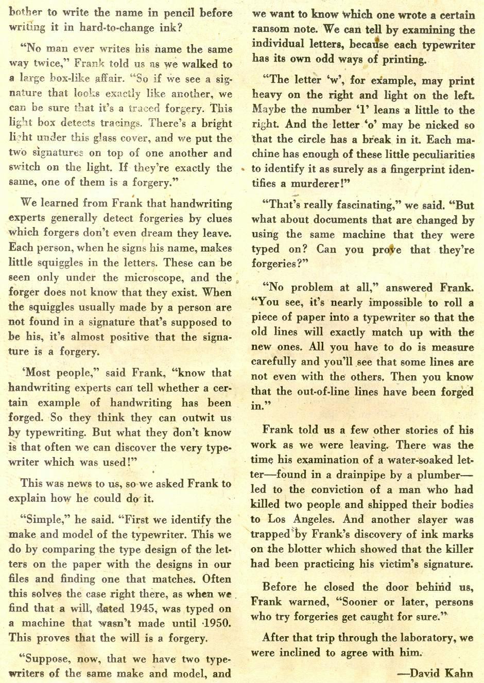 Read online Detective Comics (1937) comic -  Issue #181 - 32