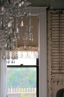 Laurieanna S Vintage Home Diy Ruffled Roller Shades
