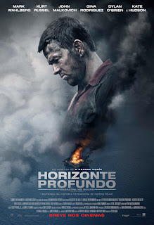 Pôster/capa/cartaz nacional de HORIZONTE PROFUNDO - DESASTRE NO GOLFO (Deepwater Horizon)