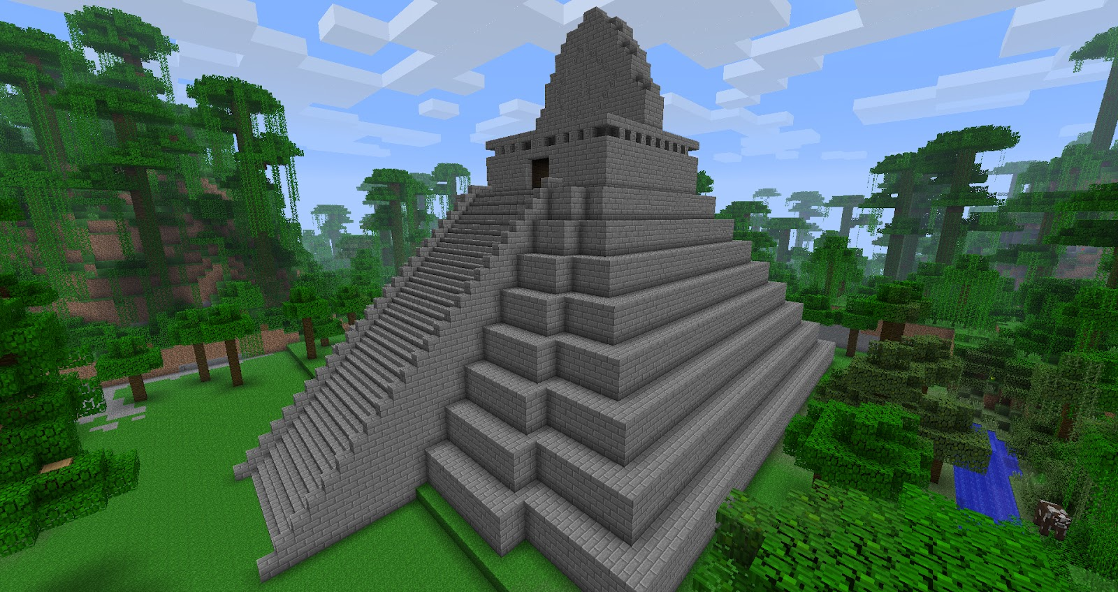 How To Build A Maze In Minecraft Pe