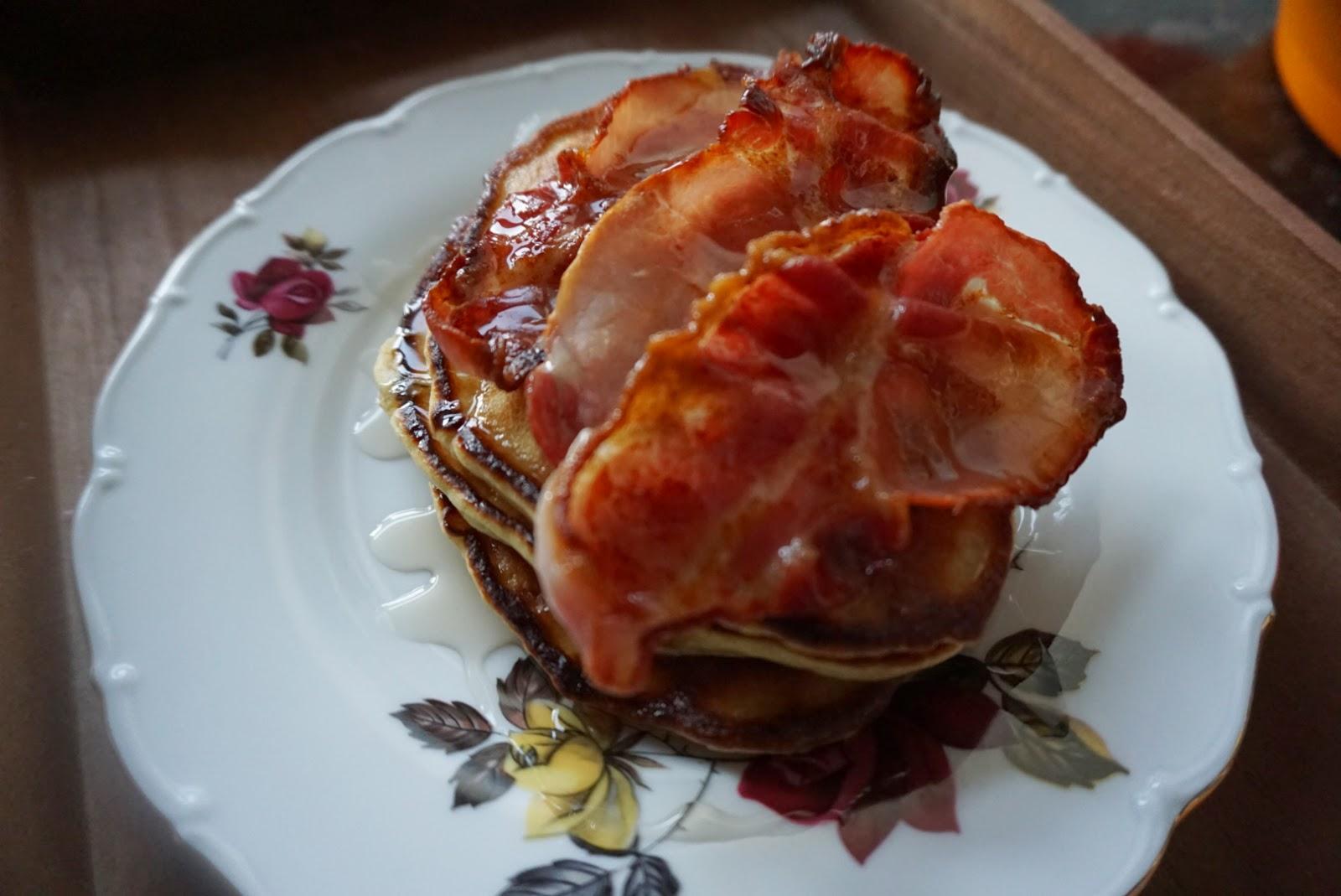 fluffy, light, moreish pancakes
