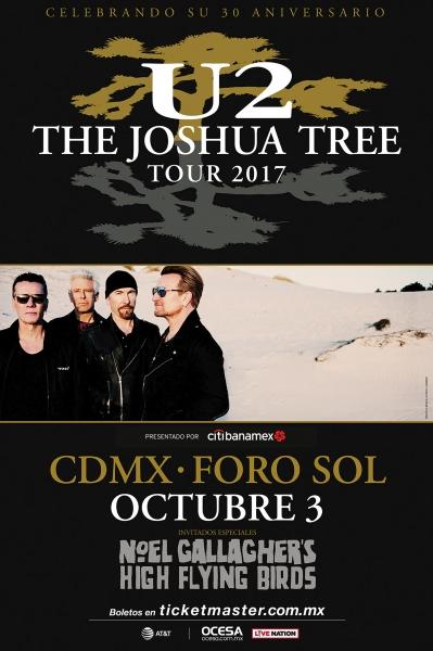 U2 MÉXICO 2017