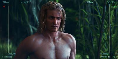 Warrior Wet Hair for Genesis 3 Male
