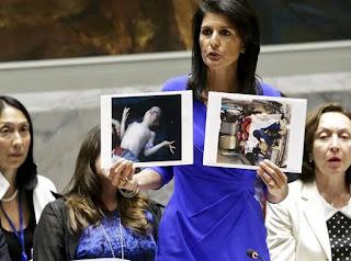 η μόνιμη αντιπρόσωπος των ΗΠΑ στον ΟΗΕ Νίκι Χάλεϊ
