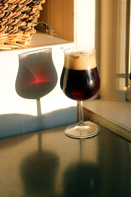 Home-Fermented Commonwealth Sour Brown Ale with Coffee