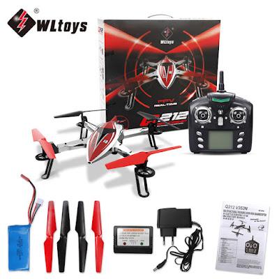 Spesifikasi Drone Wltoys Q212G - GudangDrone