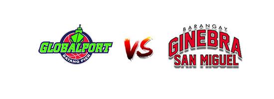GlobalPort Batang Pier vs Barangay Ginebra San Miguel - 6:45pm