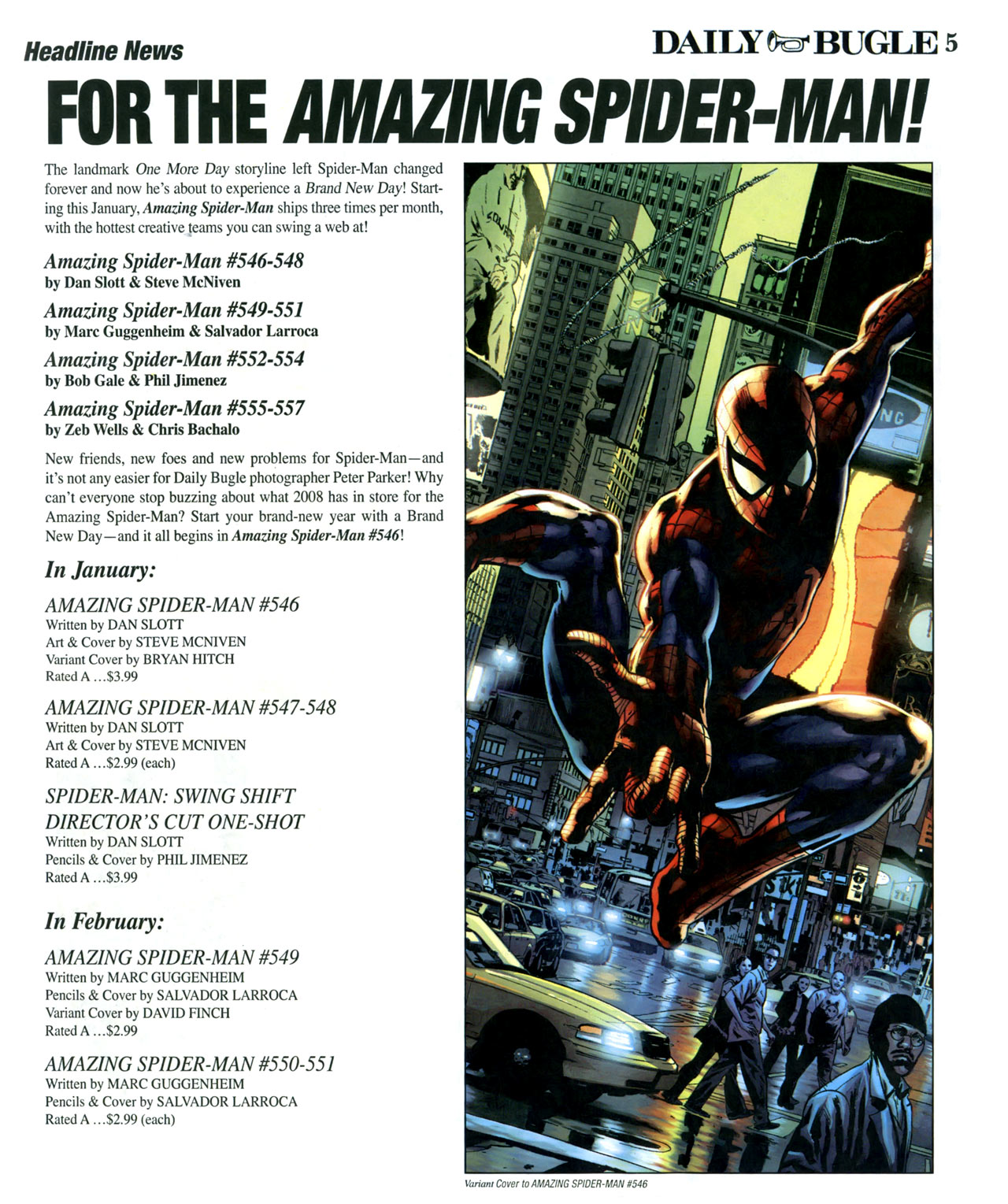 Read online Daily Bugle (2006) comic -  Issue #16 - 6