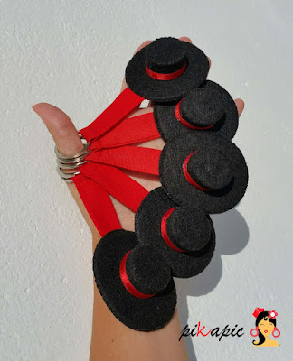 Llaveros sombrero cordobés Pikapic