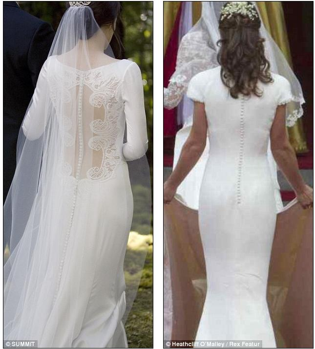 Revealed Bella Swan S Stunning 35 000 Twilight Wedding Dress Unveiled And Doesn T It Look Familiar
