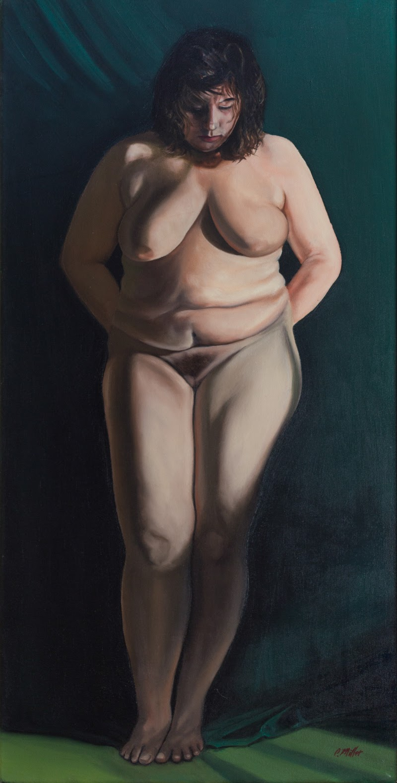 Figurative Paintings by Chuck Miller from Texas.