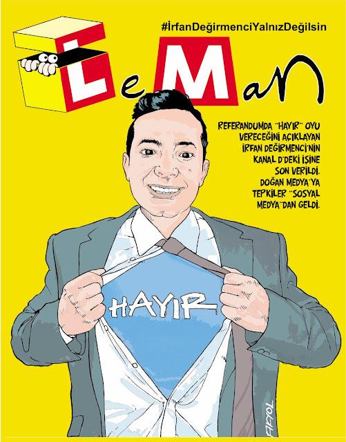 Leman Dergisi | 15 Şubat 2017 Kapak Karikatürü