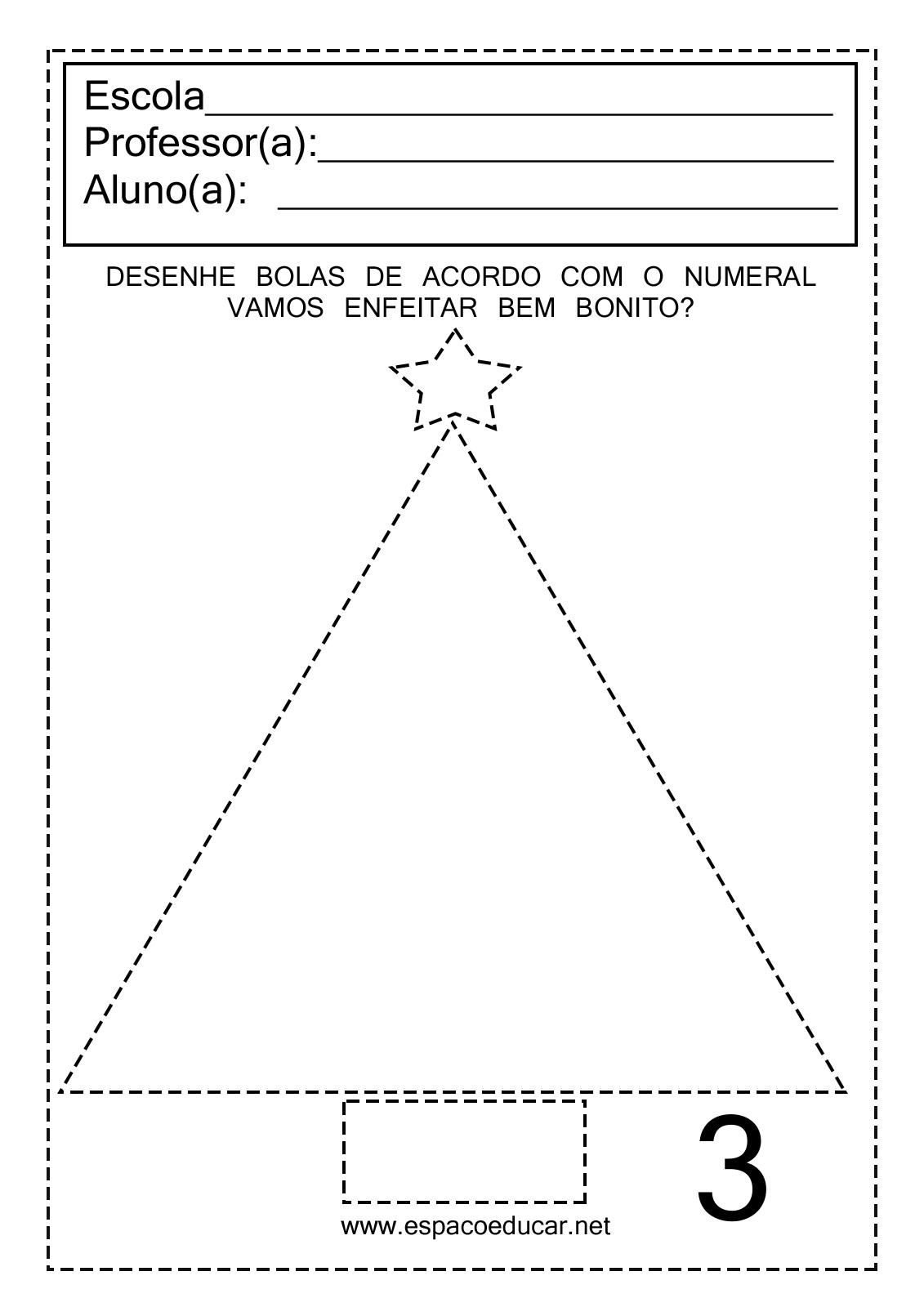 Atividades De Natal Para A Educacao Infantil Que Tal Desenhar