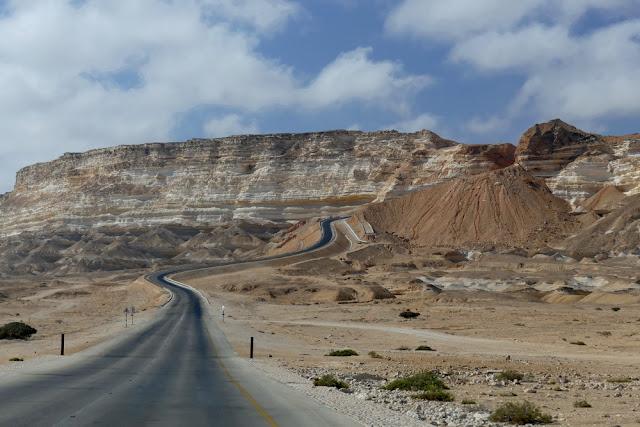 Oman, Roadtrip, Übersicht, Strasse, Berge, Abenteuer