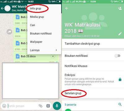 Grup Whatsapp Cara Agar Hanya Admin Yang Bisa Kirim Pesan Mari Ngenet